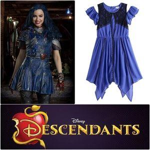 Disney Descendants Evie Cold Shoulder Lace Dress